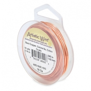 18 Gauge Artistic Wire cuivre