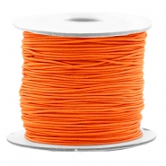Fil élastique coloré 0.8mm orange vibrante
