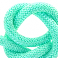 Cordelette style marin 10mm turquoise