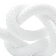 Cordelette style marin 10mm blanc
