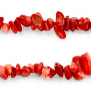 Perles Chips Rouge pourpre