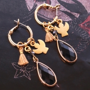 Sets d'inspiration Boucles d'oreilles fantaisies en Crystal Glass