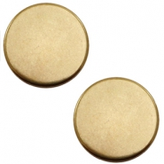 Cabochons en métal DQ rond 12mm bronze antique (sans nickel)